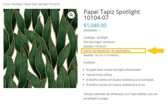 Papel Tapiz Monterrey paso 1 como calcular tus rollos de papel tapiz